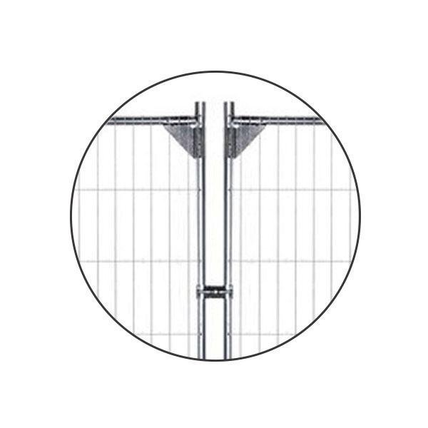 Byggstängsel | Byggstängsel Protect Förstärkt 105 m på transportpall