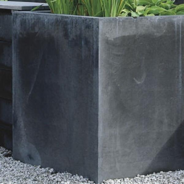 Planteringskärl | Planteringskärl Bergen i antracit eller naturgrå 400 x 450 mm