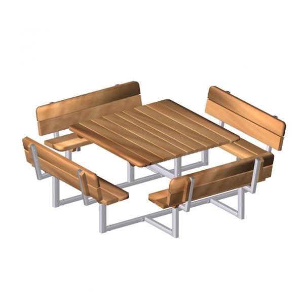 Picknickbord & Parkbord   Bänkbord Fyran
