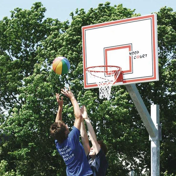 Basketställningar   Basketset Playmaker Easy med stativ, basketkorg, nät och platta