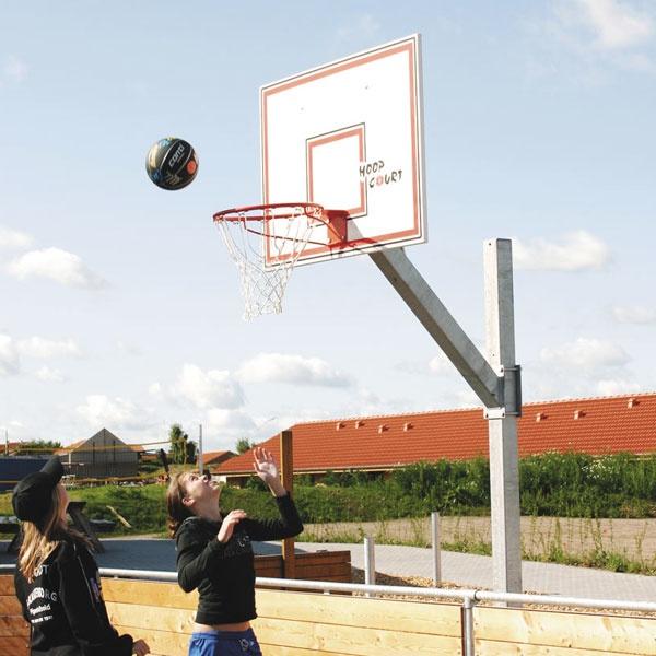 Basketställningar | Basketset Playmaker Medium med stativ, dunkkorg, nät och vattenfast platta