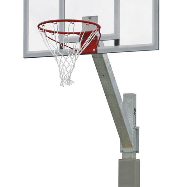 Basketställningar | Basketset Playmaker Pro med stativ, basketkorg, nät och genomskinlig platta