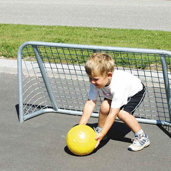 Fotbollsmål | Skolgårdsmål i stål 120 x 60 cm