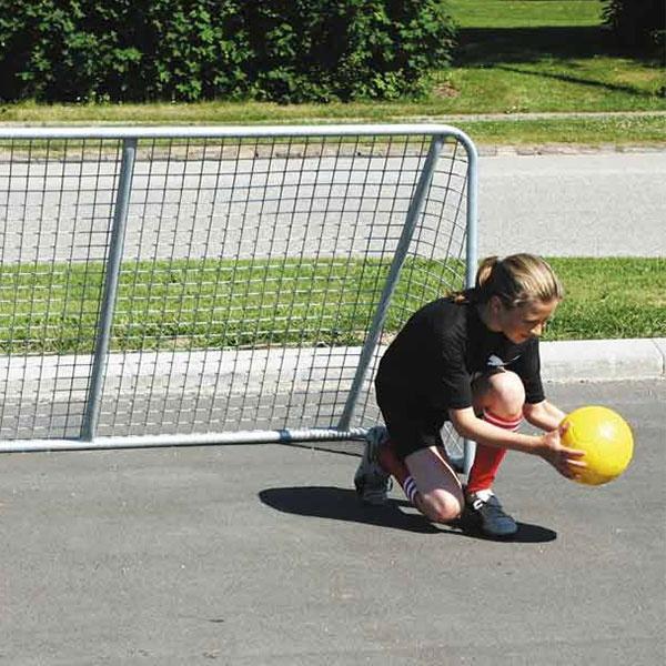 Fotbollsmål | Skolgårdsmål i stål 200 x 100 cm