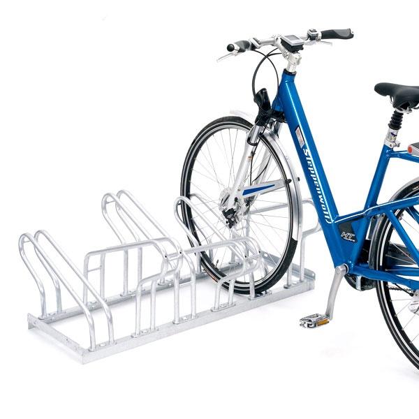 Cykelställ | Cykelställ 2000 dubbelsidigt - 35 cm mellanrum