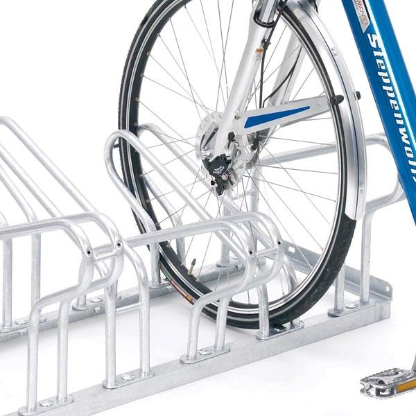 Cykelställ | Cykelställ 2000 dubbelsidigt - 39 cm mellanrum