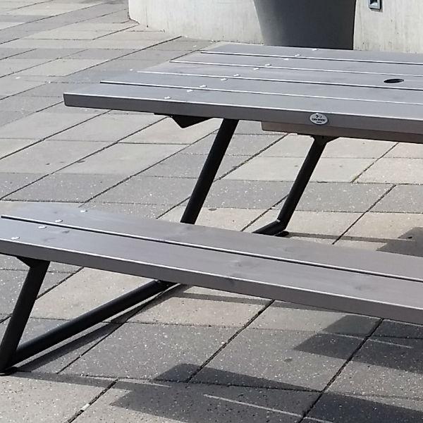 Picknickbord & Parkbord | Stockholm Picnic picknickbord i grått