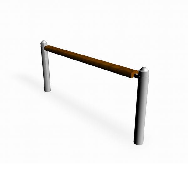 Staket & Räcken | Räcke ströget m. trä enkel