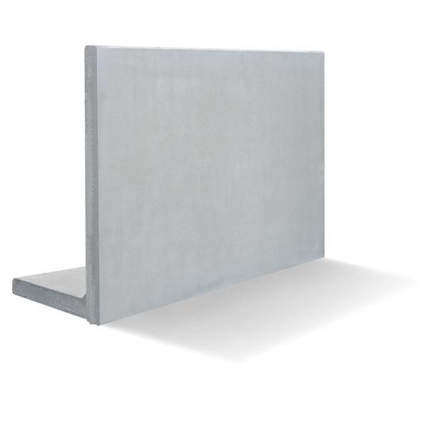 Stödmurar & L-stöd | L-stöd, längd 1000 mm, not-fjäder 5kN