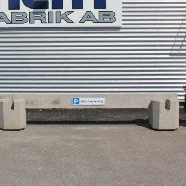 Parkeringsräcken | Parkeringsräcke fristående i betong