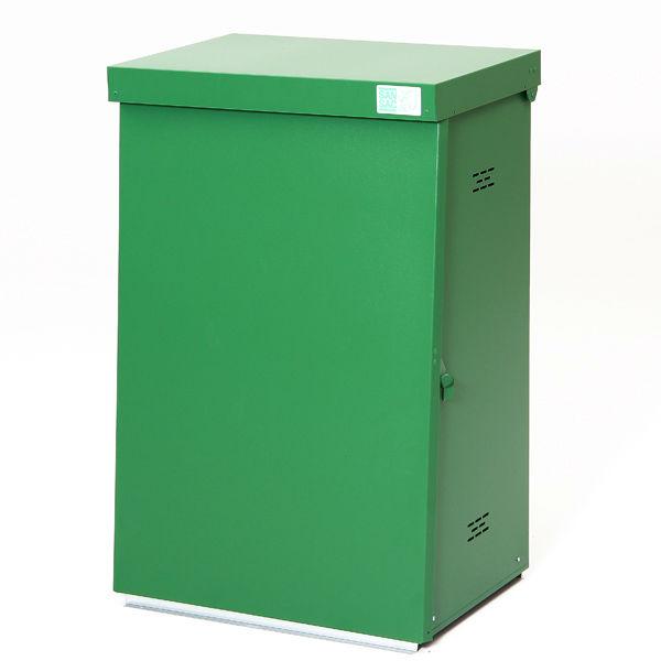 Säckhållare   Säckhållare med grön plastisol