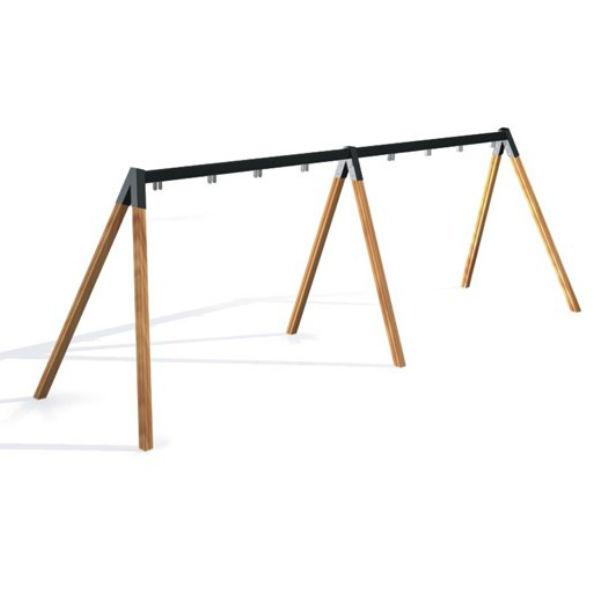 Gungställning | Gungställning Trä 4 platser