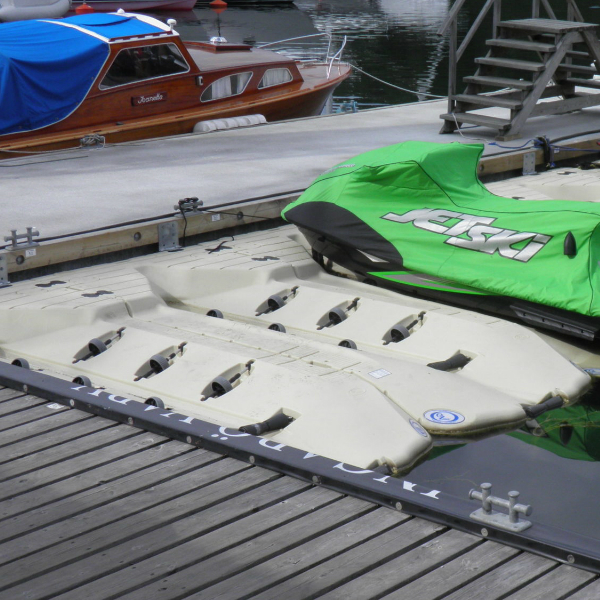 Båtramper & vattenskoterramper  | Vattenskoterramp EZ Port integr stopp