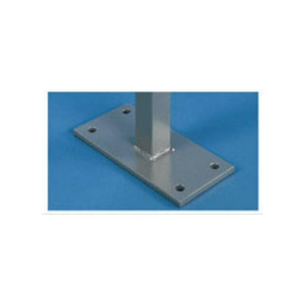 Informationstavlor | 2 st Rektangulära stolpar till modell PN & Z för nedgjutning