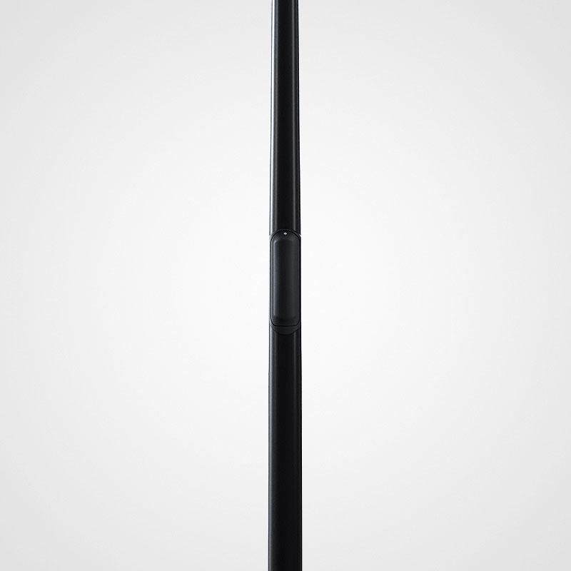 Belysningsstolpar | Belysningsstolpe Streetmast Svart