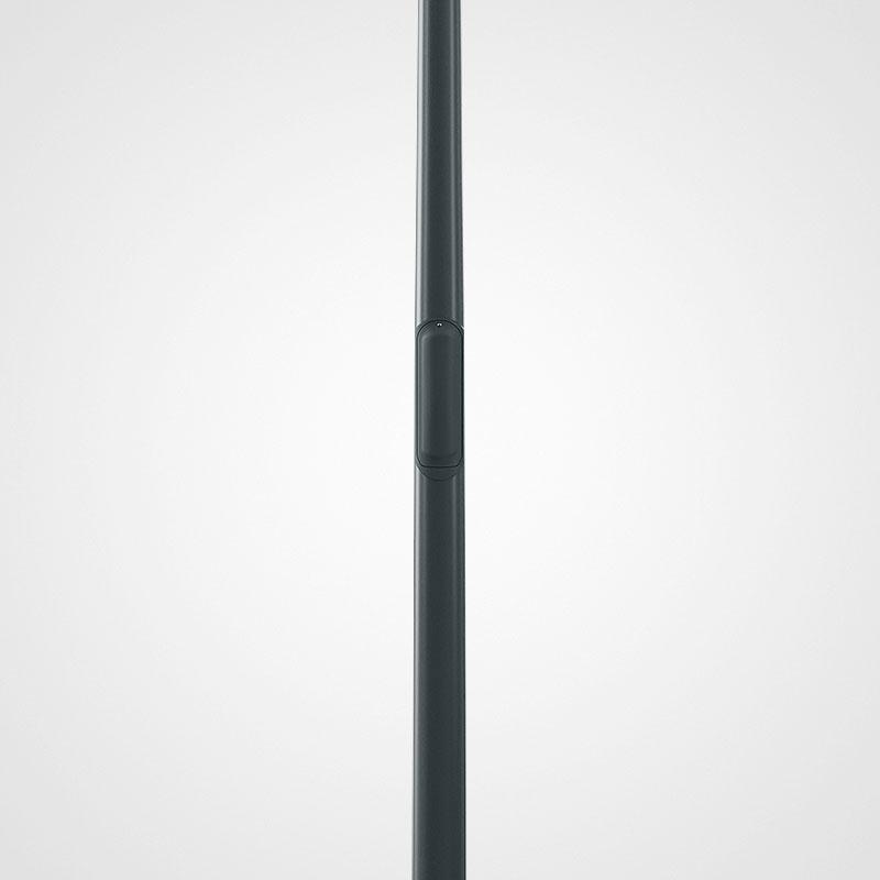 Belysningsstolpar   Belysningsstolpe Streetmast Antracitgrå