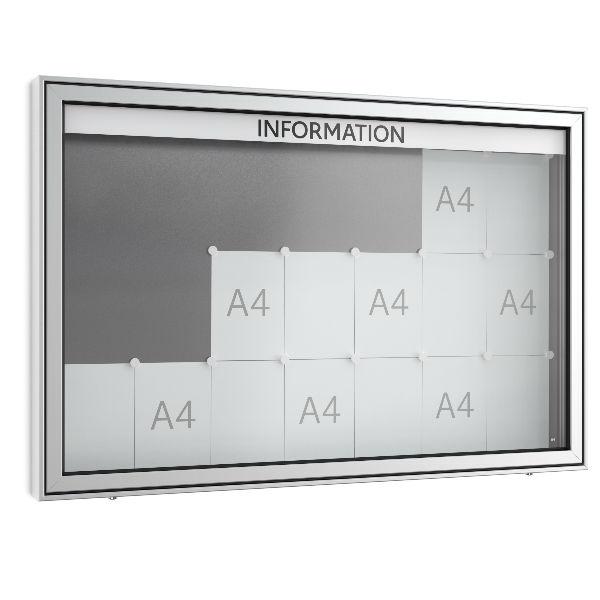 Informationstavlor | Informationstavla - Modell TN dubbelsidig
