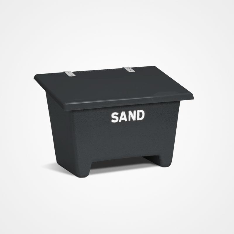 Sandbehållare | Sandbehållare Antracitgrå 130L-550L