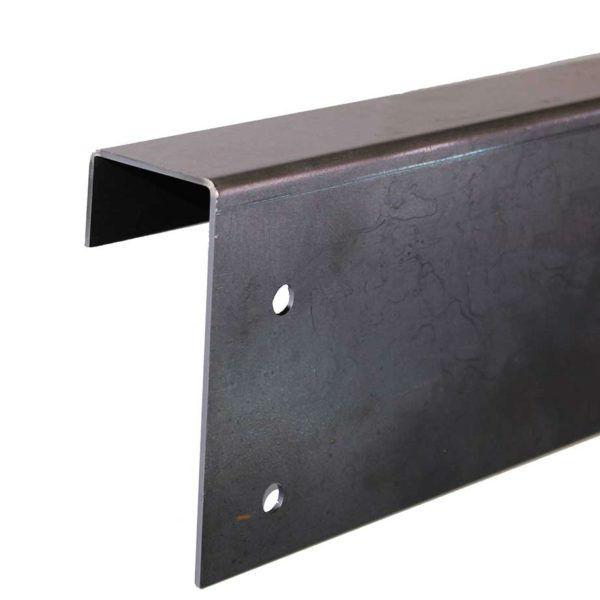 Rabattkanter & Trädringar | Bockad rabattkant Hög i Corten 2mm