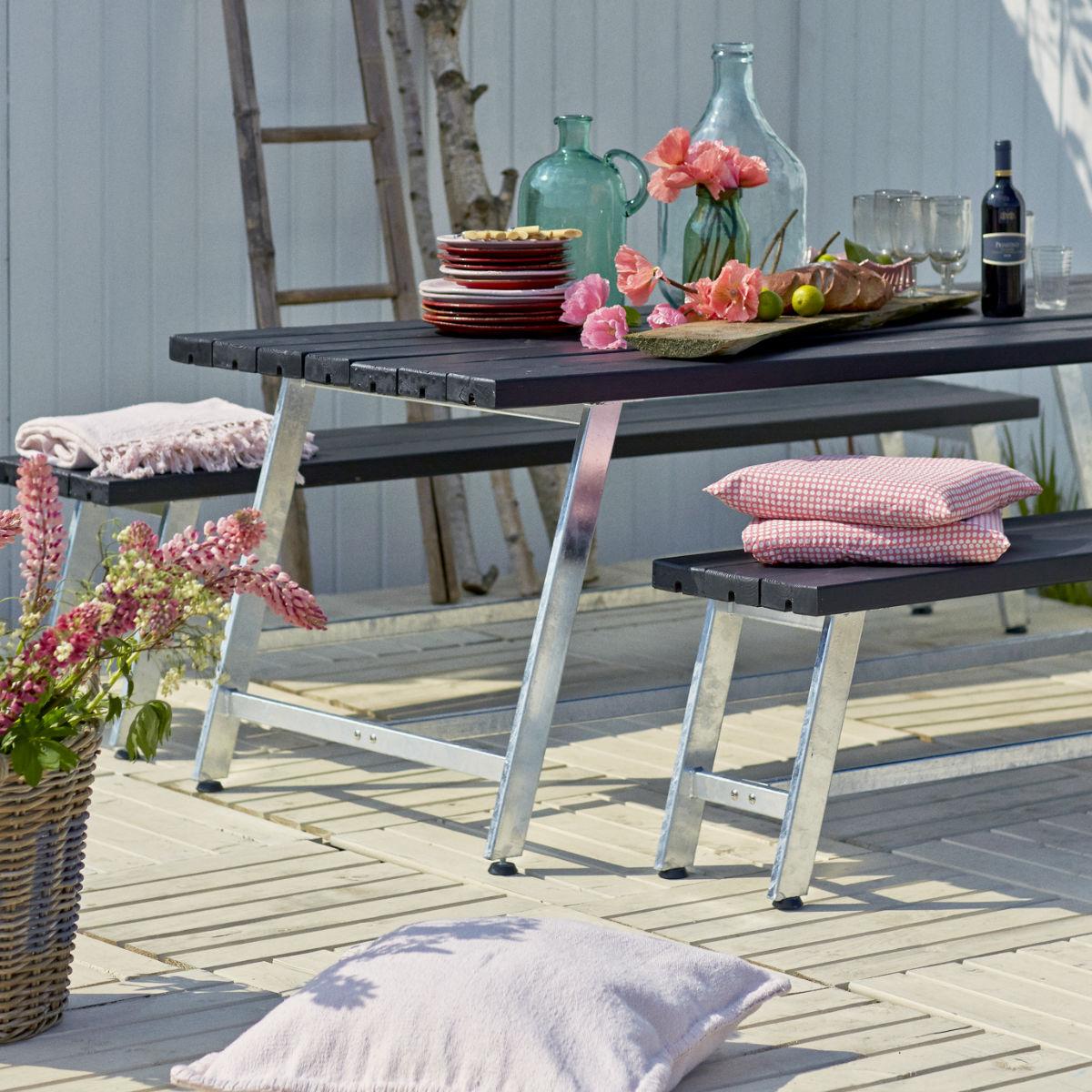 Café & Trädgårdsmöbler | Möbelgrupp Royal 177 cm