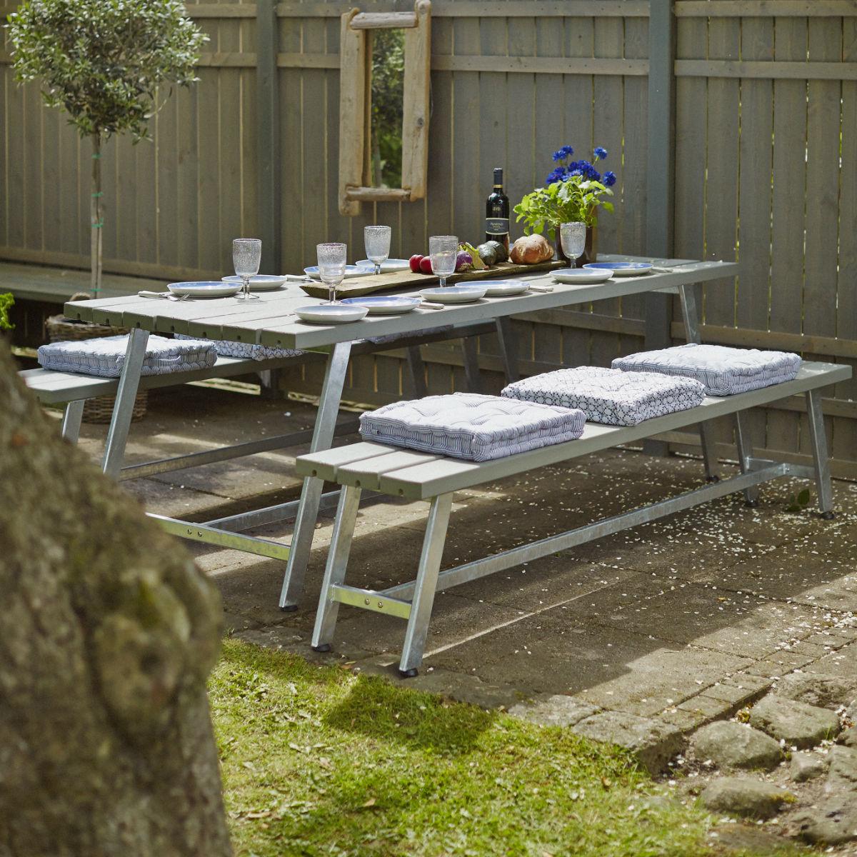Café & Trädgårdsmöbler | Möbelgrupp Royal 207 cm