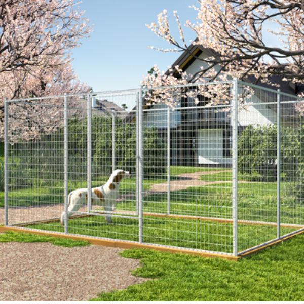 Hundgårdar | Hundgård Fido 8,6 m2