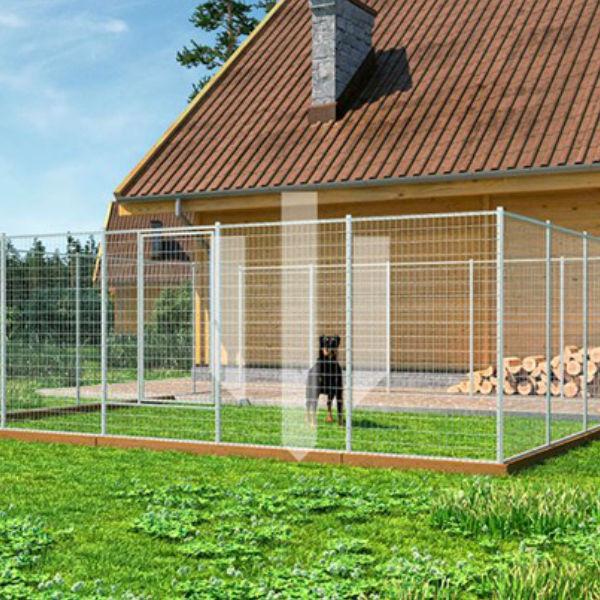 Hundgårdar   Hundgård Fido 36 m2