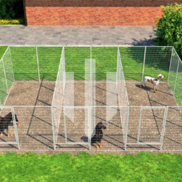 Hundgårdar | Hundgård Fido 3 x 11,5 m2