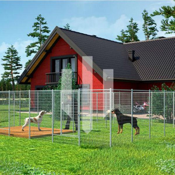 Hundgårdar | Hundgård Fido 2 x 26 m2
