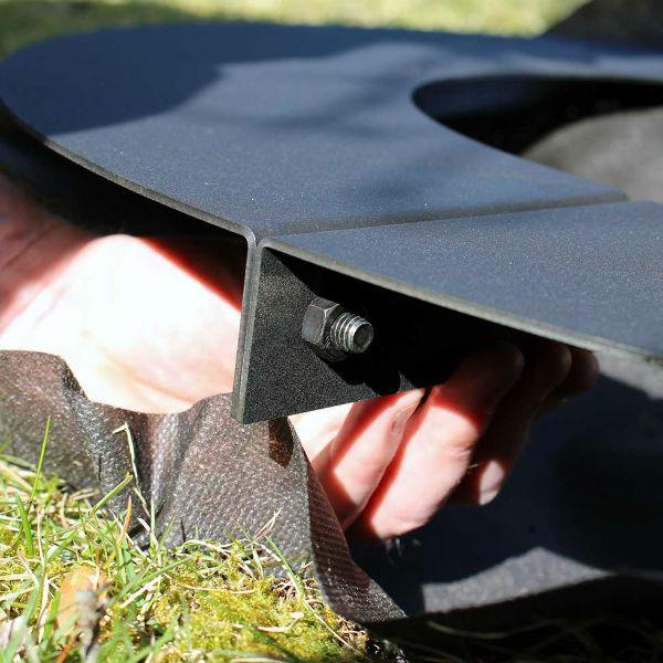 Rabattkanter & Trädringar | Trädring platt 60 cm
