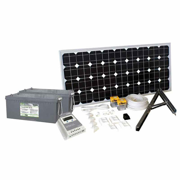 Sol & Vindenergi | Solcellspaket 100W Basic