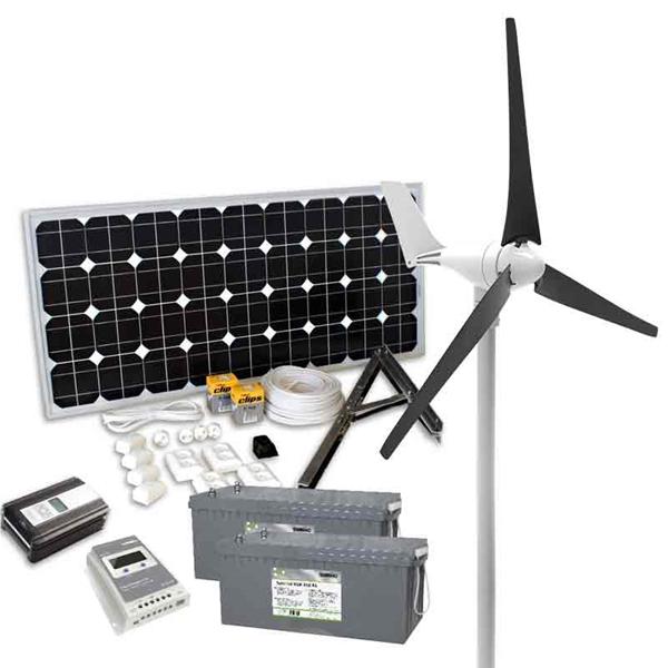 Sol & Vindenergi | Kombinationspaket Sol & Vind