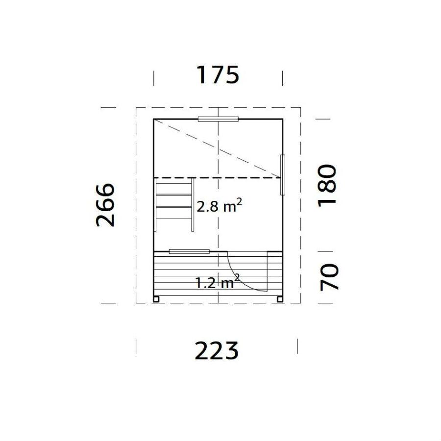 Lekstugor | Lekstuga Elina 2,8 m2