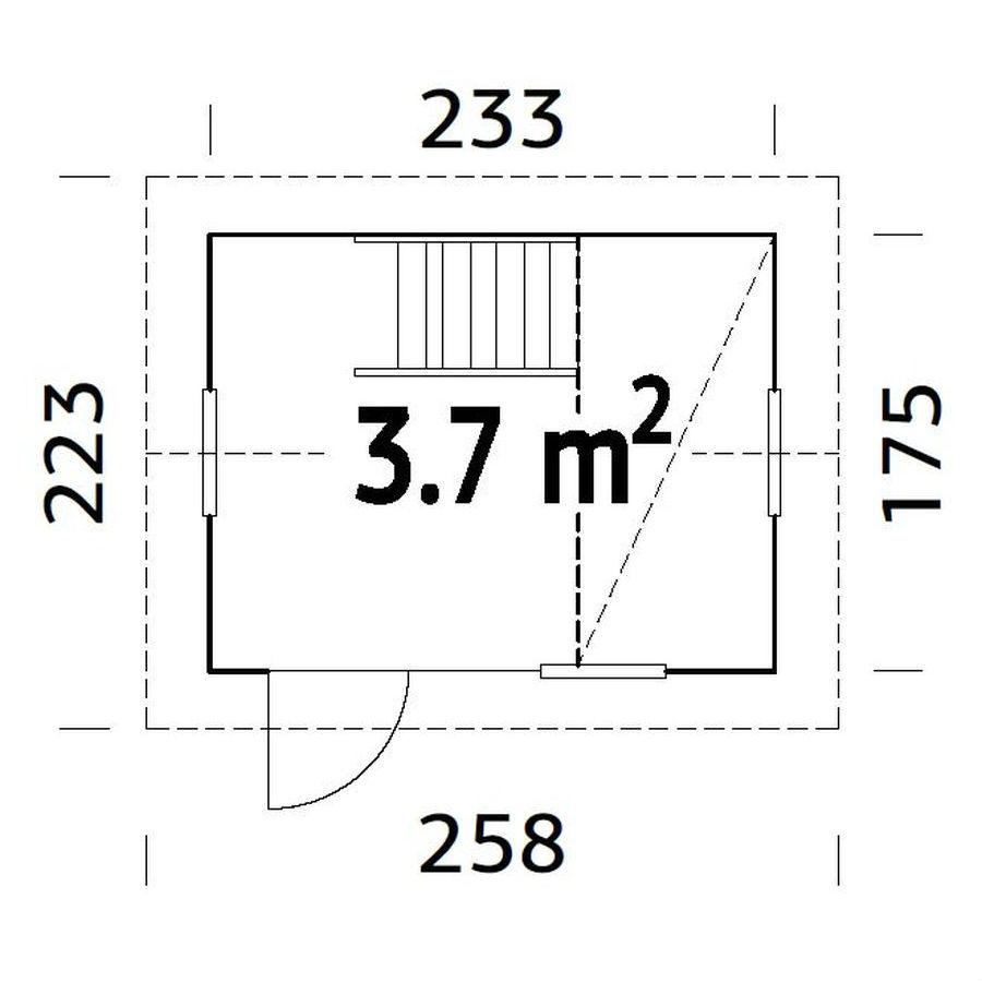 Lekstugor | Lekstuga Grete 3,7 m2