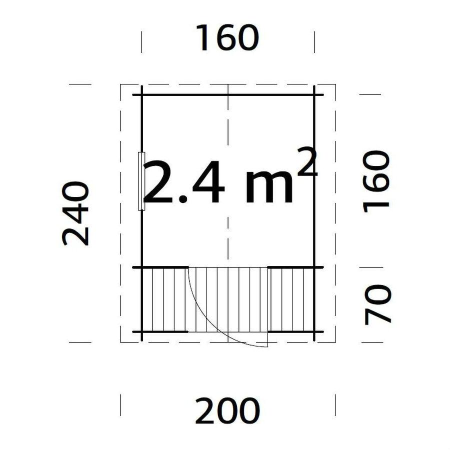 Lekstugor | Lekstuga Sam 2,4 m2