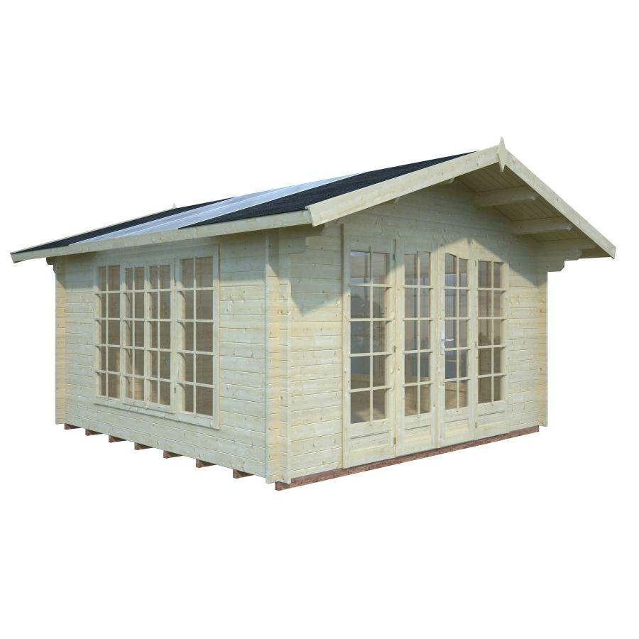 Friggebod & Förråd   Stuga 13,9 m2 med fönstertak