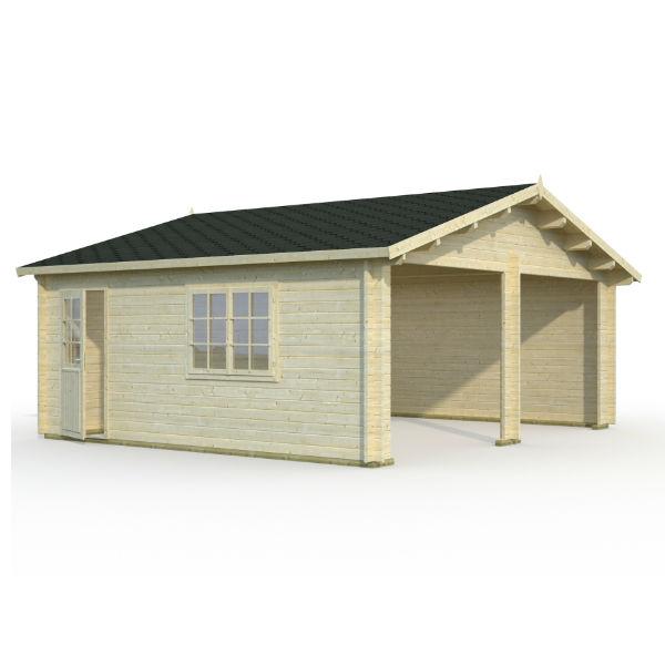 Garage & Utehus | Dubbelgarage 28,4 m2