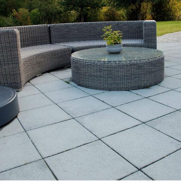 Trädgårdsplattor | Trädgårdsplatta Vision 400x400x40 (Glimmer)