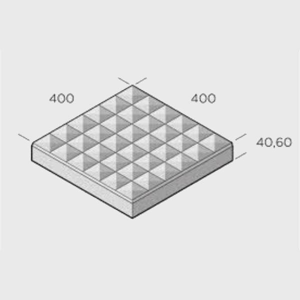 Trädgårdsplattor | Trädgårdsplatta Spektra 400x400x60