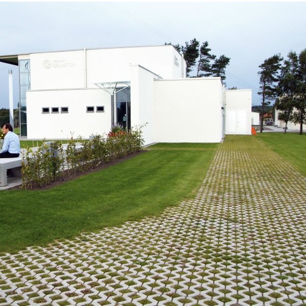 Trädgårdsplattor | Gräsarmering Hansa 400x600x100