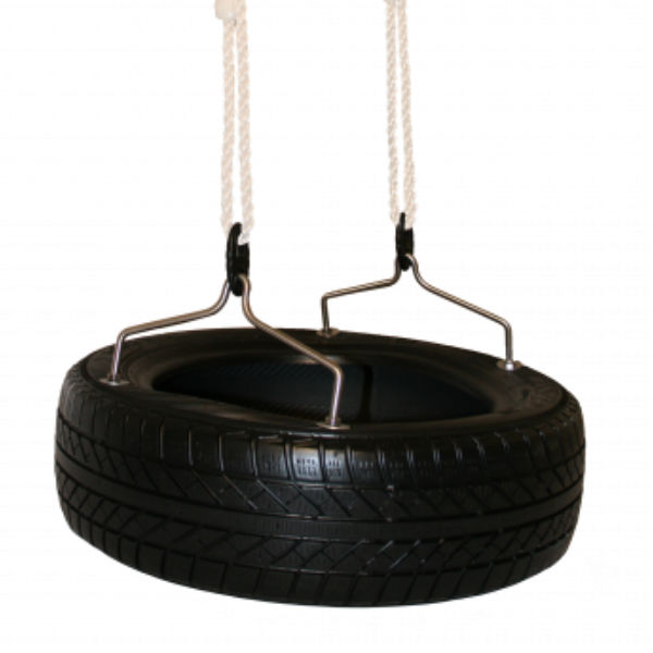 Gungor | Däckgunga med rep