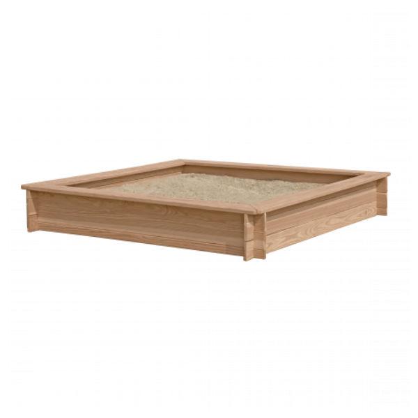 Sandlådor | Sandlåda lärkträ 150 x 150 cm FSC-certifierat