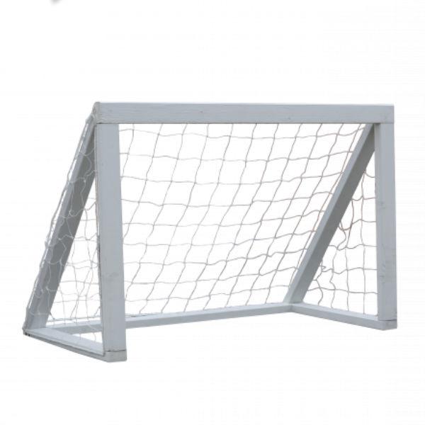 Fotbollsmål | Fotbollsmål vitmålat - FSC-certifierat