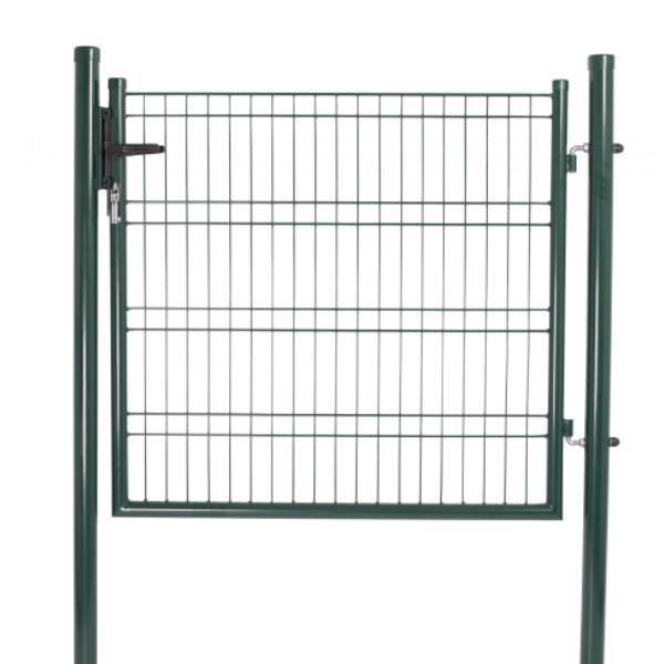 Staket & Räcken | Komplett grönt panelstängsel inkl grind
