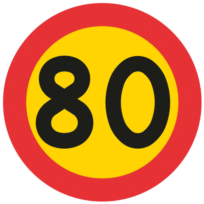 Trafikskyltar | Hastighetsskyltar