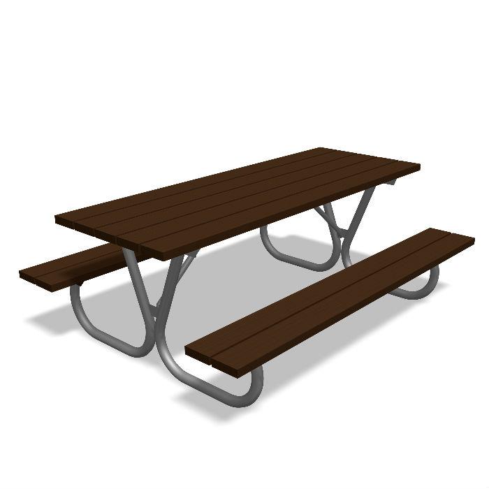 Picknickbord & Parkbord | Picknickbord Hallon för Barn i återvunnen Plast