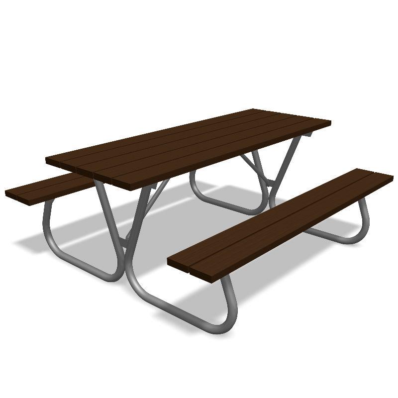 Picknickbord & Parkbord | Picknickbord Linnea - Återvunnen plast