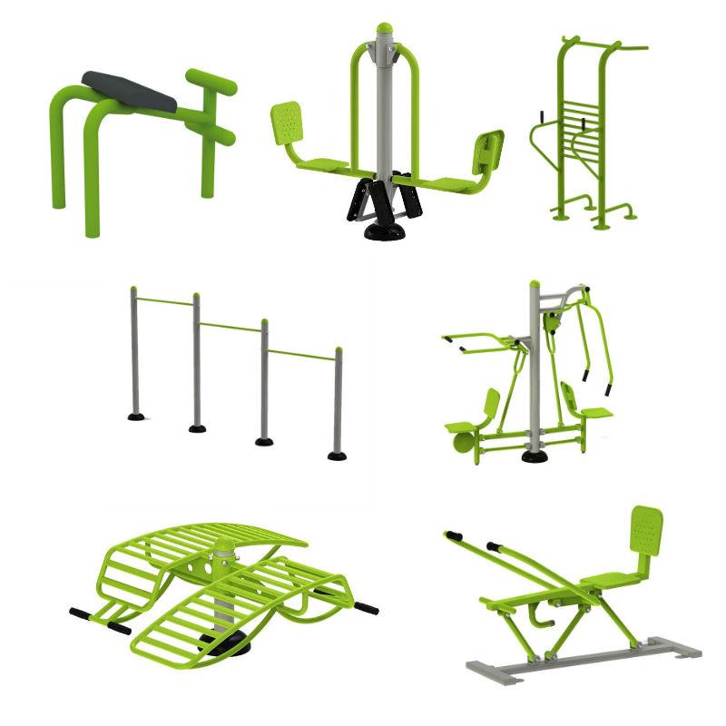 Utegym   Gympaket 7 enheter