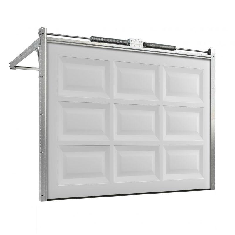 Garageportar | Motordriven garageport 2500 x 2000mm Rutig