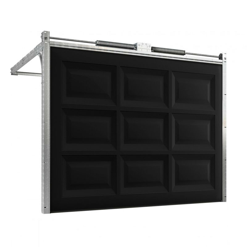 Garageportar | Motordriven garageport 3000 x 2100mm Rutad
